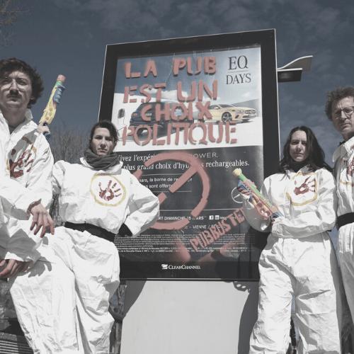 Devenez PubBuster avec Alternatiba ANV Rhône
