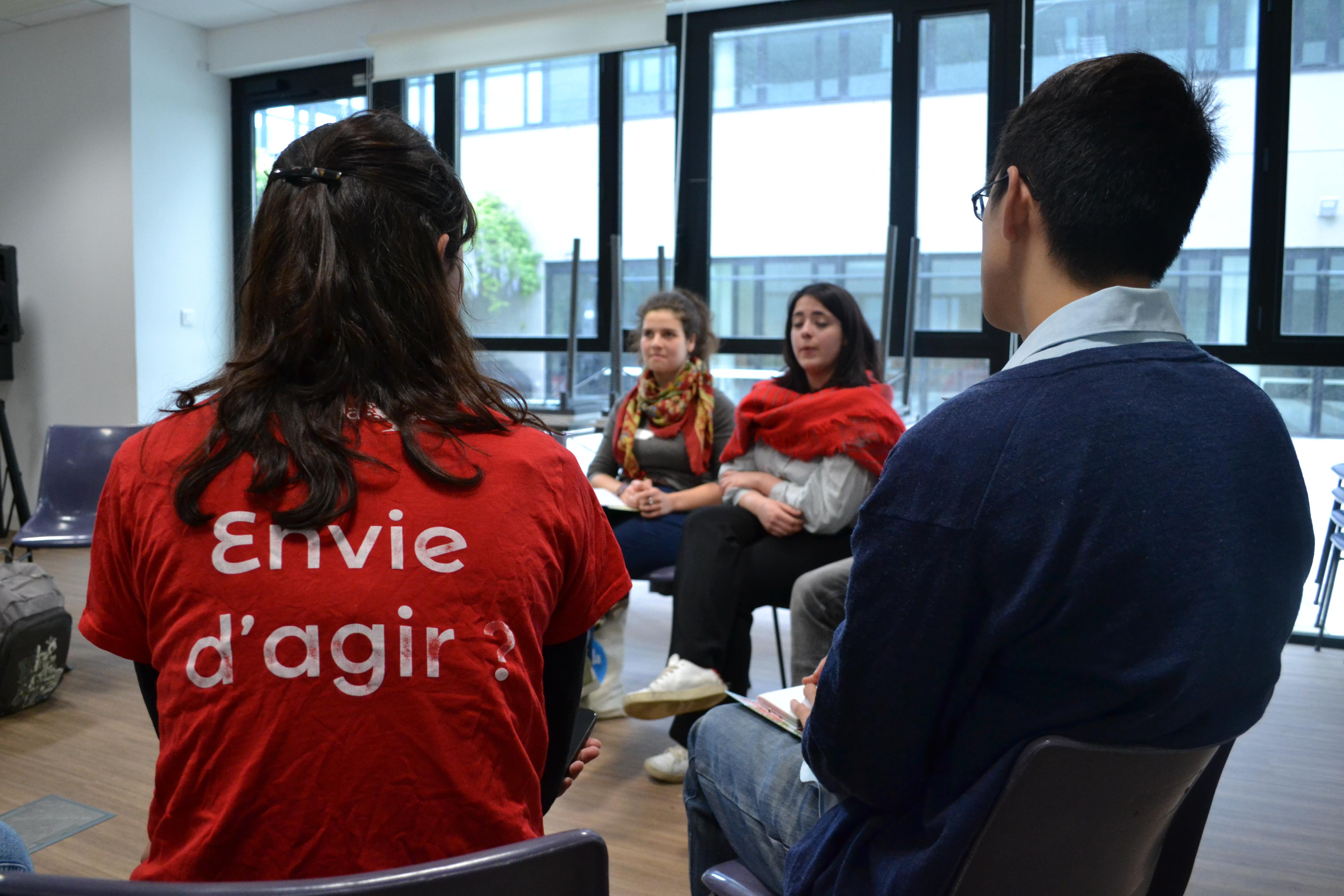 Soirée en ligne, la Rencontre des Étudiants en action – édition 2021