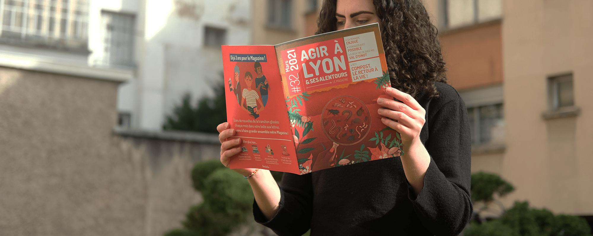 Le magazine Agir à Lyon fête ses 3 ans, continuons de le faire grandir ensemble !